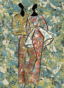 African-american Paintings - Youre the One by Pamela Hilliard