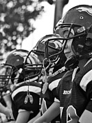 Teammates Prints - Youth Football Print by Susan Leggett