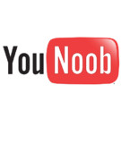 Youtube Prints - YouTube Parody - You Noob Print by Paul Telling