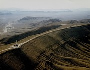 Nuclear Energy Photo Posters - Yucca Mountain Was A Proposed Nuclear Poster by Everett