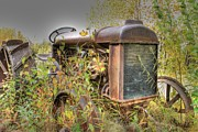 Sam Amato Prints - Yukon Tractor Print by Sam Amato