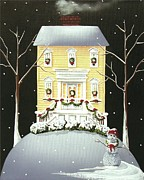 Catherine Holman - Yuletide Cottage