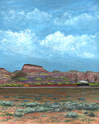 Big Sky Paintings - Yuma Bound by Gordon Beck