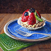 Lynette Cook Paintings - Yummy Goodness by Lynette Cook