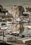 Ruin Photo Prints - Yumurtalik harbour Print by Gabriela Insuratelu