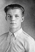 Yuri Gagarin As A Teenager, 1950 Print by Ria Novosti