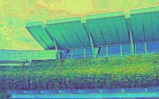 Airport Architecture Prints - YVR Vancouver International Airport Print by Randall Weidner