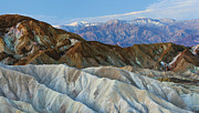 Panamint Valley Photos - Zabriske Point by Don Smith