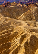 Badlands Photos - Zabriskie Morning by Mike  Dawson