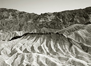 Aurica Voss Metal Prints - Zabriskie Point Metal Print by Aurica Voss