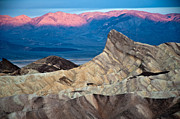 Manley Photo Prints - Zabriskie Point Dawn Print by Jim Chamberlain