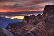 High Dynamic Range Photos - Zabriskie Point by Peter Tellone