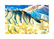 Point Park Digital Art Posters - Zabriskie Point Poster by Steven Wilson