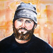 Band Painting Originals - Zac Brown by Brian Degnon