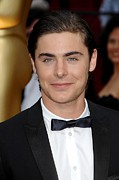 Kodak Theatre Framed Prints - Zac Efron At Arrivals For 81st Annual Framed Print by Everett