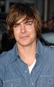 2000s Hairstyles Prints - Zac Efron At Arrivals For Hangover Print by Everett