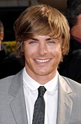 2000s Hairstyles Framed Prints - Zach Efron At Arrivals For Arrivals - Framed Print by Everett