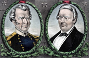 Presidential Photo Prints - Zachary Taylor for President and Millard Fillmore for Vice President Print by International  Images