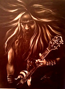 Band Painting Originals - Zakk by Lani Walling
