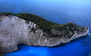 Greetingcard Prints - Zakynthos  Crocodile Island Greece Print by Colette Hera  Guggenheim