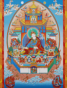 Thangka Paintings - Zangdok Palri by Sergey Noskov
