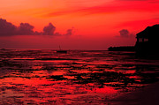 Abstract Landscapes Posters - Zanzibar Sunrise Poster by Aidan Moran