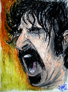 Guitar Pastels - Zappa by Sam Hane