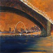 St. Louis Mixed Media Originals - Zazzle by Janice Schoultz Mudd
