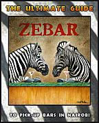 Kenya Art - Zebar-The Guide by Will Bullas
