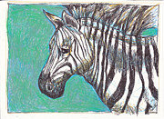 Michele Hollister - for Nancy Asbell - Zebra Postcard
