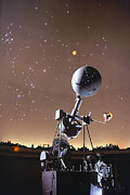 Projector Prints - Zeiss Planetarium Projector Print by Granger