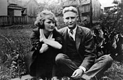 Husband Photo Posters - Zelda Fitgerald And F.scott Fitzgerald Poster by Everett
