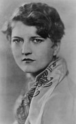 Hair Styles Framed Prints - Zelda Fitzgerald 1900-1948, Talented Framed Print by Everett