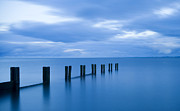 Dundee Photos - Zen Blue - Tranquil Scottish Coastal View by Iain Gordon Dundee Scotland