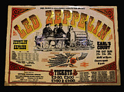 Rock Concert Prints - Zeppelin Express Print by David Lee Thompson