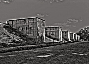 Architektur Metal Prints - Zeppelin Field - Nuremberg Metal Print by Juergen Weiss
