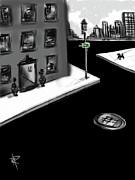 Zig Zag City Print by Russell Pierce