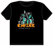 City Scenes Tapestries - Textiles - Zigzagland Empire t-shirt by John  Stidham
