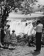 Zimbabwe Photos - Zimbabwe Waterfall by S T Darko