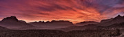 Canyon Photos - Zion National Park Panoramic by Leland Howard