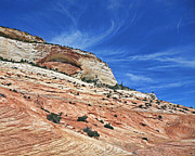 Sandstone Art - Zion Stone Eye by Gregory Scott