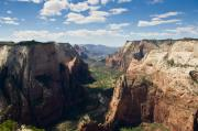 Observation Posters - Zion Valley from Observation Point - color Poster by Steven Wilson