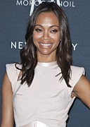 Apparel Prints - Zoe Saldana In Attendance For Gen Art Print by Everett