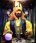 Contemporary Pacific Art Posters - Zoltar Poster by John Rizzuto