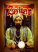 Zoltar Framed Prints - Zoltar Framed Print by Pam Kennedy