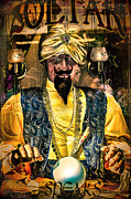 Turban Digital Art Framed Prints - Zoltar Speaks Framed Print by Chris Lord