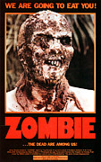 Italian Cinema Framed Prints - Zombie, Aka Zombi 2, Poster, 1980 Framed Print by Everett