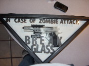 Frame Sculptures - Zombie Attack by Michael Toth