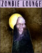 Lounge Posters - Zombie Lounge... Poster by Will Bullas