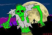 Zombies Print by Jason Kasper